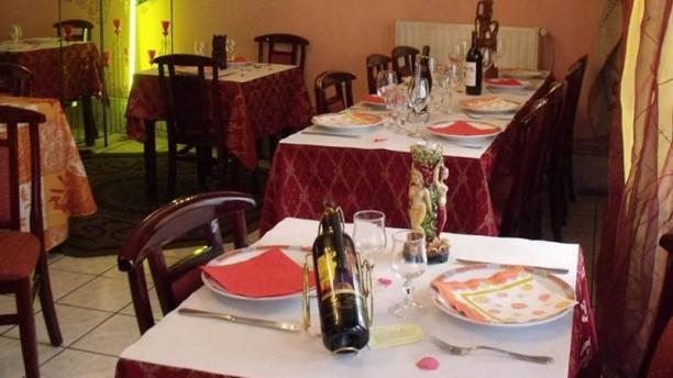 Kashmir Restaurant Indien salle