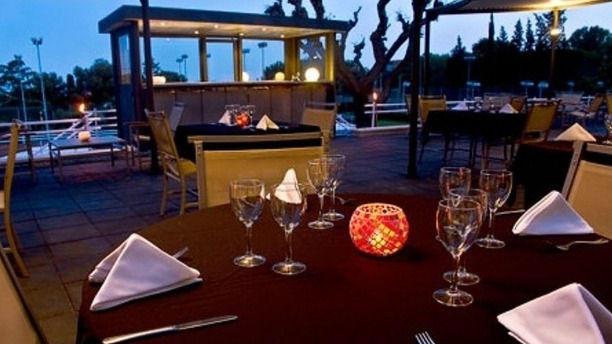 Restaurante Bonasport vista terraza