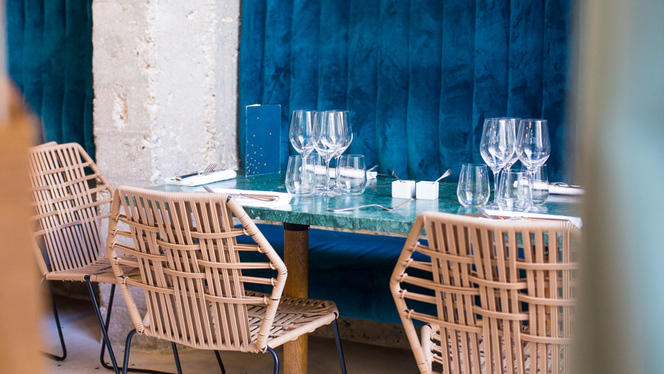 Tables dressées - Daroco, Paris