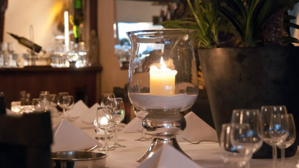 Tempo Doeloe Detail van de tafel