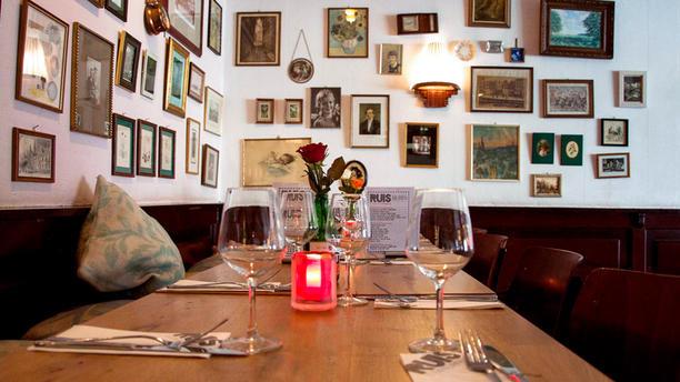 Ruis eten en drinken Het restaurant