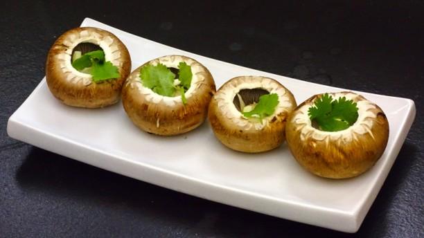 Restaurante Vinarium Cogumelos com Azeite, Alho e Coentros
