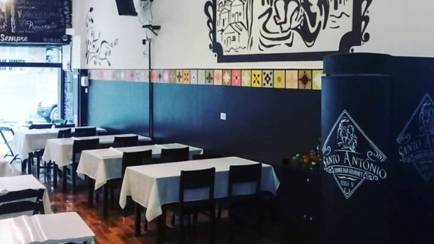 Santo Antônio Bar e Restaurante Gourmet Sala