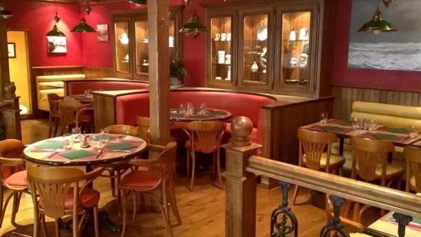 Entre Terre et Mer Salle du restaurant