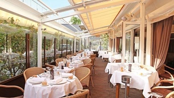 Chez Françoise Terrasse du restaurant