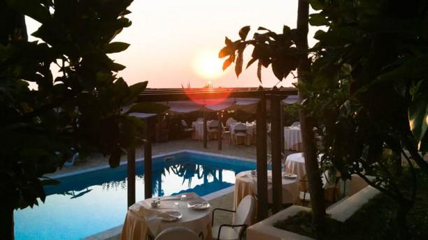 Villa Caprile Esterno ristorante