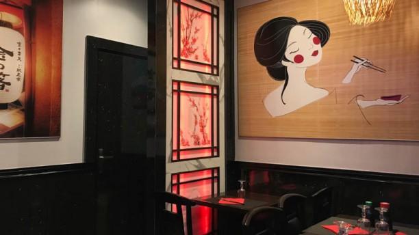 Idea Sushi Vue de la salle