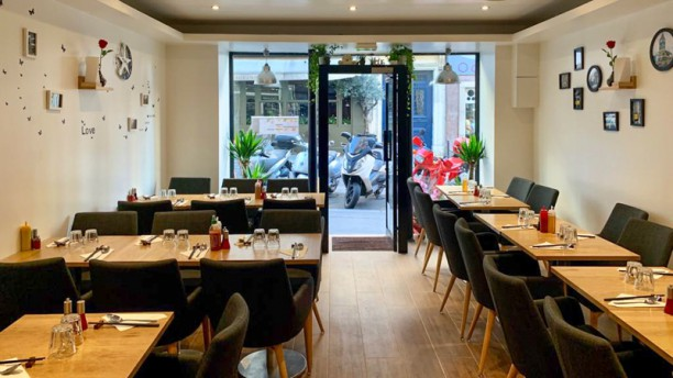 Pho Saint-Georges Salle du restaurant