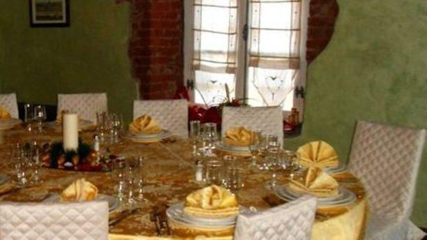 Ristorante Malan tavola elegante per ricevimenti