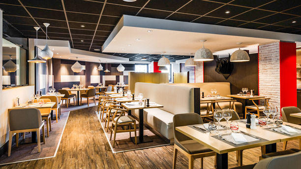 restaurante black angus h tel holiday inn toulouse airport en blagnac men opiniones. Black Bedroom Furniture Sets. Home Design Ideas
