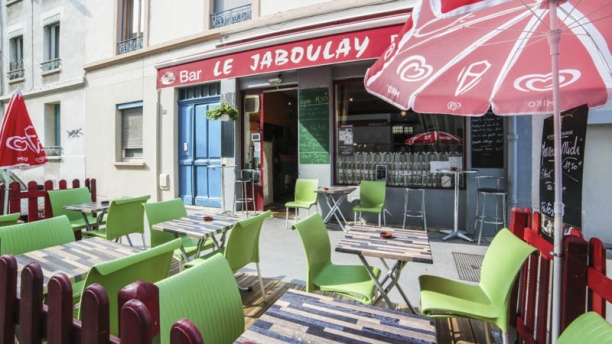 Le Jaboulay terrasse