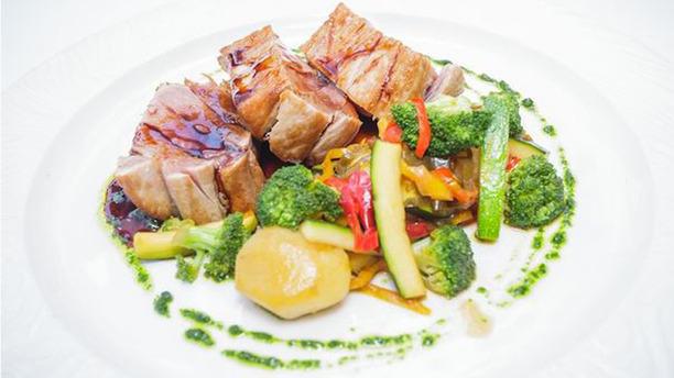 La Fontina plato carne con verduras