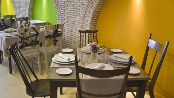 Restaurante Essentia Sala del restaurante