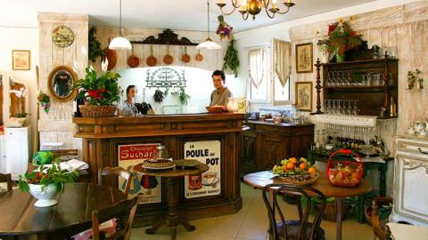 restaurant - La Popote de l'Antiquaire - Comps