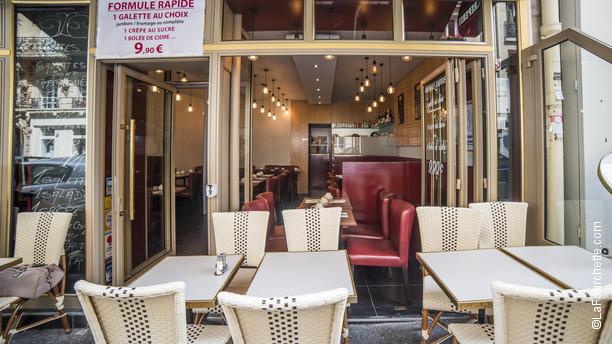 restaurant le grenier pommes paris tour eiffel. Black Bedroom Furniture Sets. Home Design Ideas