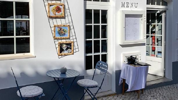 Alvor Terrace Restaurante Entrada