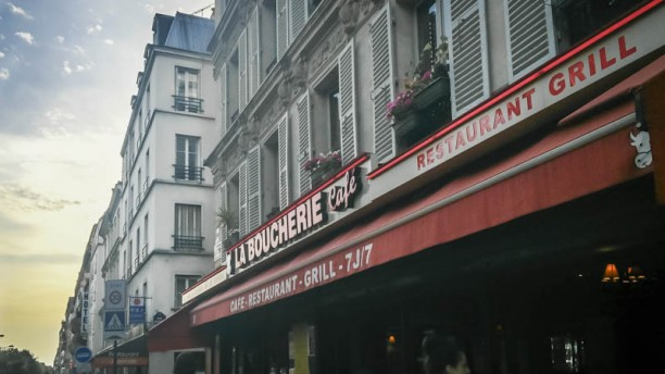 La Boucherie façade