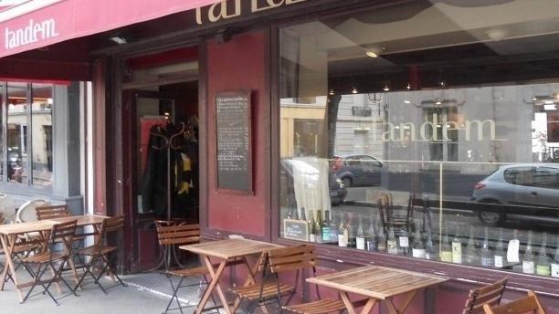 Tandem restaurant 10 rue de la butte aux cailles 75013 - Restaurant butte aux cailles ...