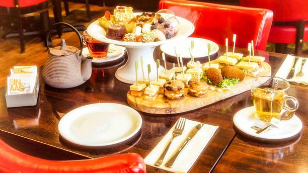 Brasserie De Zeezot Detail van de tafel