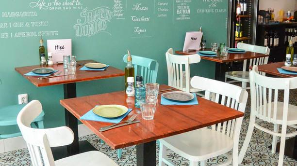 Bistrobar Miro Het restaurant