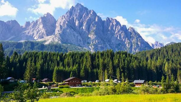 Alp Stube Sappada Dolomiti Il paesaggio