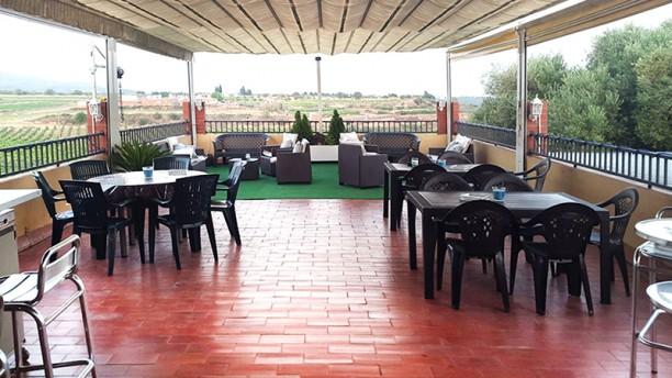 Restaurant Les Arades Vista terraza