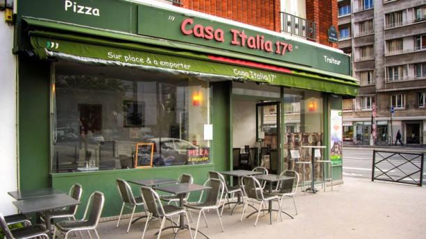 Casa Italia devanture / terrasse