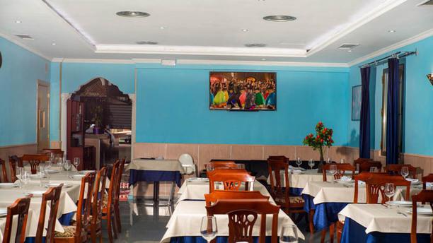 Swad Indian Restaurant - Madrid Vista de la sala