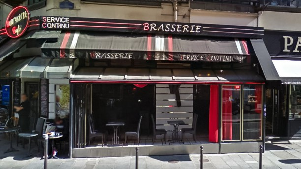 Montmartre Café Devanture