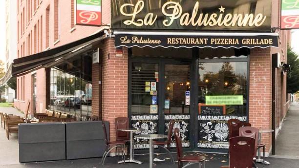 La Palusienne Façade du restaurant