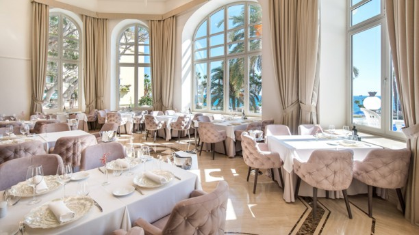Príncipe de Asturias - Gran Hotel Miramar Sala del restaurante
