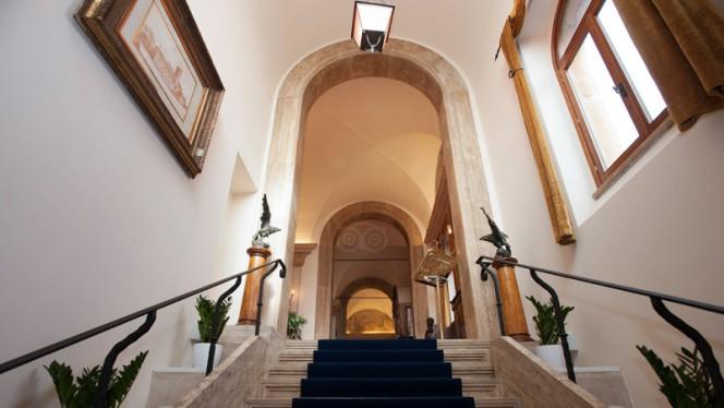 interno - Castello della Castelluccia, Rome