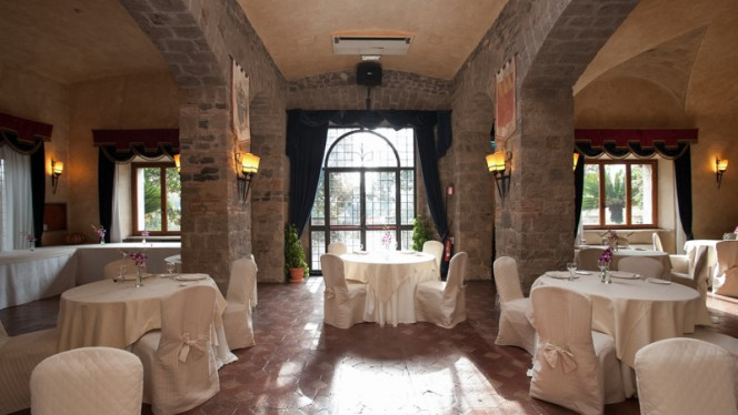 sala - Castello della Castelluccia, Rome