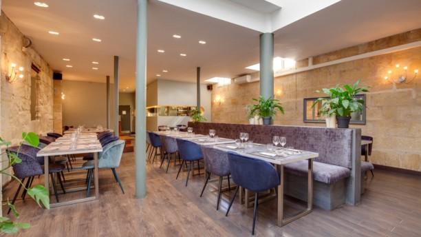 Restaurant Le M Vue de la salle