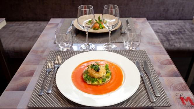 Suggestion du Chef - Restaurant Le M, Bordeaux