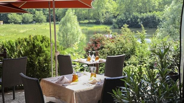 Restaurant Terrasse Etang Meudon