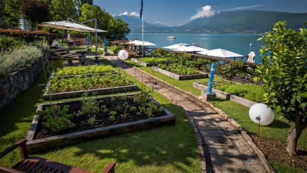 H tel restaurant yoann conte bord du lac in veyrier du for Hotel du jardin menu