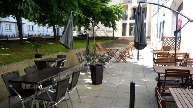 apreçu de la terrasse - Le Grand Méchant Nous, Nantes