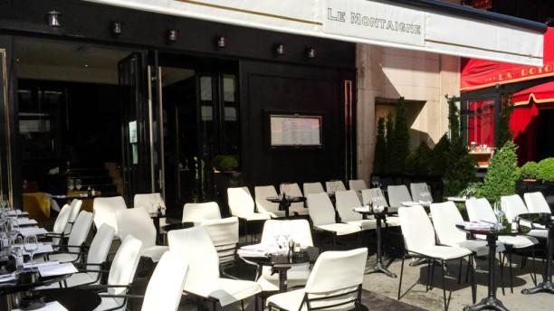 Le Montaigne Montparnasse terrasse