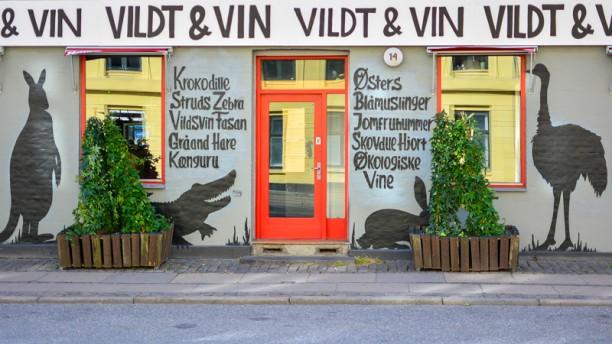 Vildt og vin facade