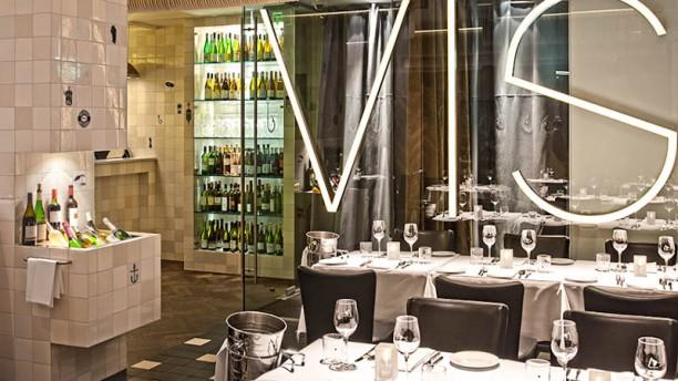 Visaandeschelde Amsterdam Het restaurant