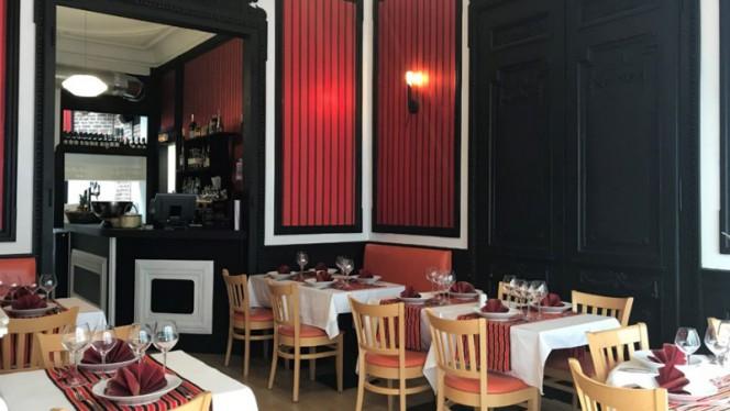 Salle du restaurant - Patrimoine K, Lille