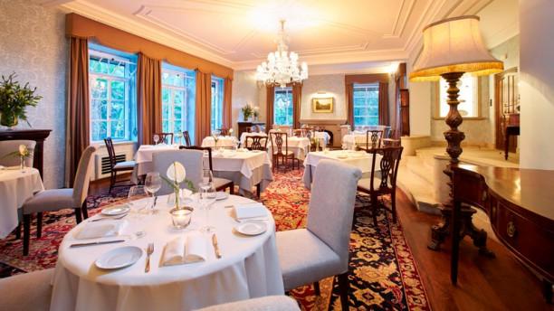 The Dining Room Restaurant At Quinta Da Casa Branca In