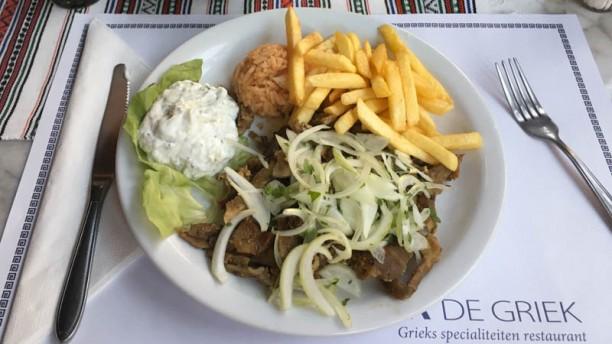 Zorba De Griek Suggestie van de chef