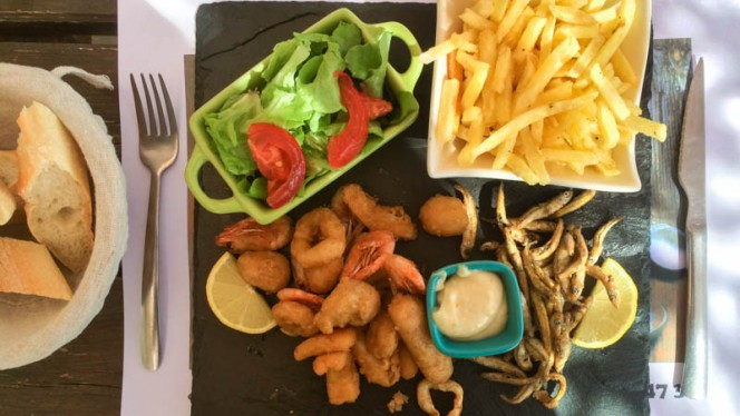 Suggestion de plat - La Crique, Carry-le-Rouet