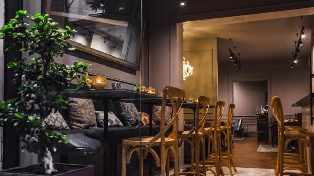 Vinogrado Sala del restaurante