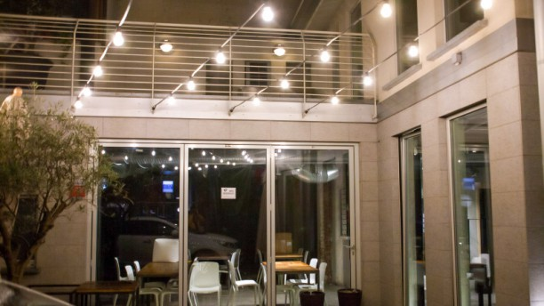 POP UP Restaurant Veduta dell interno