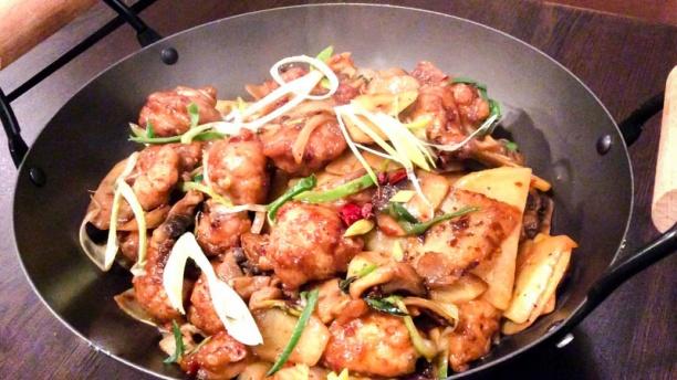 KingNa Wok légumes au poules