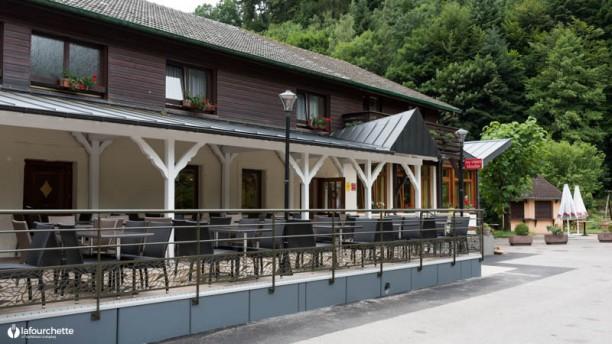 Au Vieux Moulin Façade du restaurant