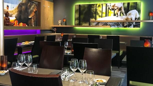 Le Rotanah Salle du restaurant